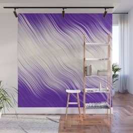 Stripes Wave Pattern 10 pp Wall Mural