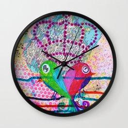 Royals - Quirky Bird Series Wall Clock