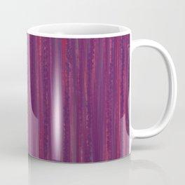 Stripes  - purple and red Coffee Mug