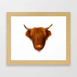 Hairy Highlander Framed Art Print