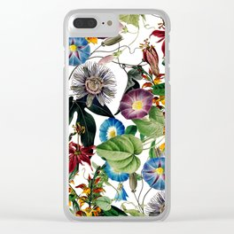 Exotic Bloom Clear iPhone Case