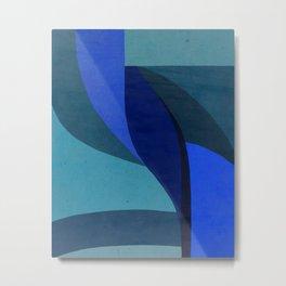 blue abstract #4 Metal Print