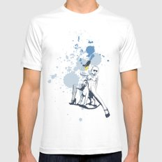Scout Squirt White Mens Fitted Tee 2X-LARGE