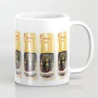 perfume Mugs featuring Perfume by Herself