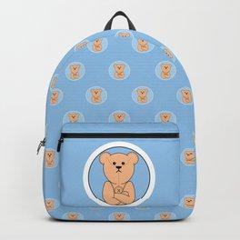 Very Grumpy Ted Backpack