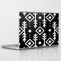 nordic Laptop & iPad Skins featuring BLACK NORDIC by Nika