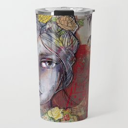 Nature Study by Jane Davenport Travel Mug