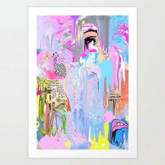 Agoraphobic  Art Print
