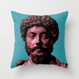 Marcus Aurelius Throw Pillow