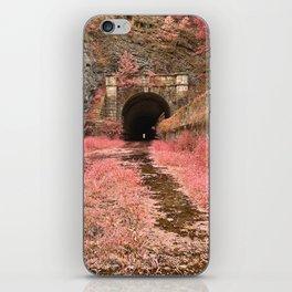 Paw Paw Tunnel - Pink Netherworld iPhone Skin