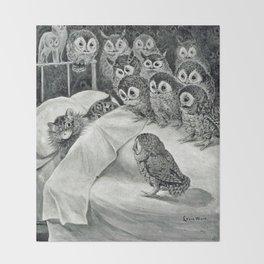 Louis Wain Cat Nightmare Owl Bird Decke