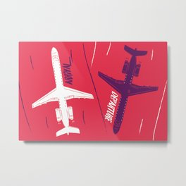 Arrival - Departure Metal Print