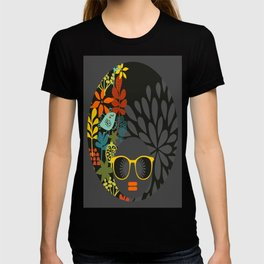 Afro Diva : Sophisticated Lady Gray T-shirt