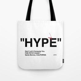 """HYPE"" Tote Bag"
