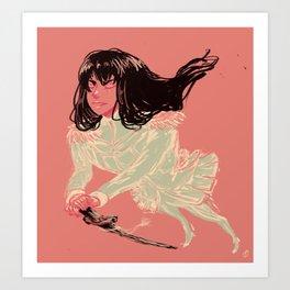 queen satsuki Art Print