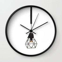 Modern Lamp (Color) Wall Clock