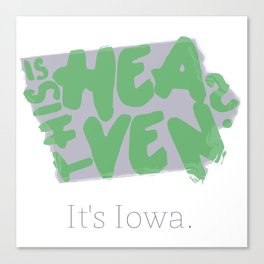 Is This Heaven? Canvas Print