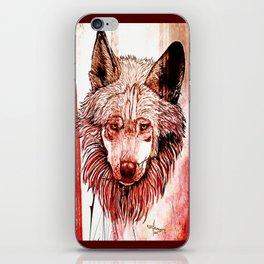 Alpha: Red iPhone Skin