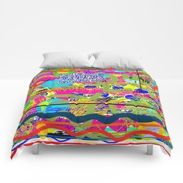 Sasso Abstract New Comforters