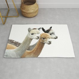 Alpaca Trio Rug