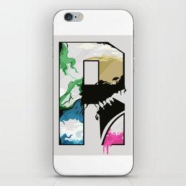 R iPhone Skin
