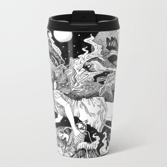 Fall Metal Travel Mug