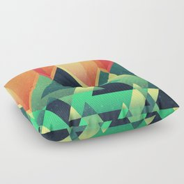 Summer Mountains Floor Pillow