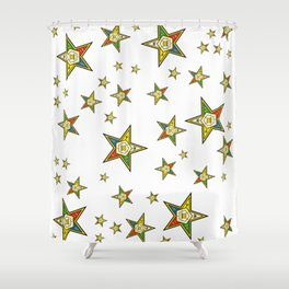 The Guiding Light (Order of the Eastern Star) Shower Curtain