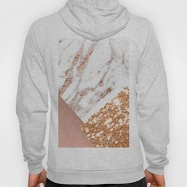 Layers of rose gold Hoody
