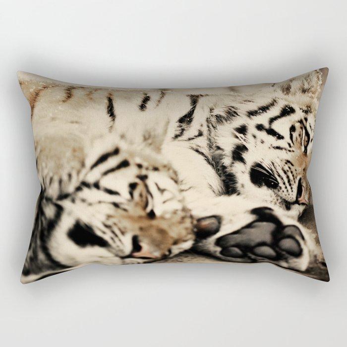 I'll keep you warm... Rectangular Pillow