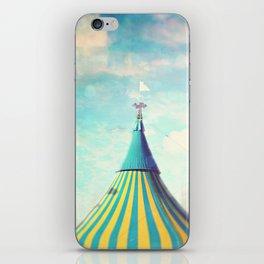 circus tent iPhone Skin