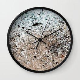 S H A T T E R E D Wall Clock