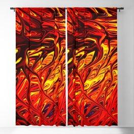 Molten Firegrass V by Chris Sparks Blackout Curtain