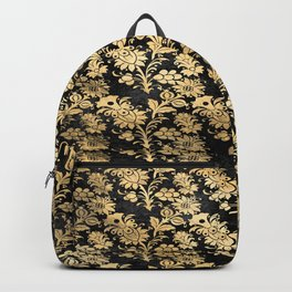 Golden Rose Garden Backpack