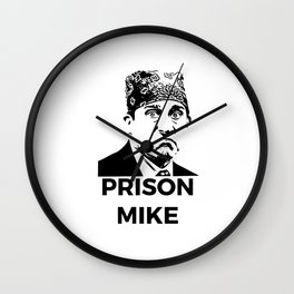 prison mike Wall Clock
