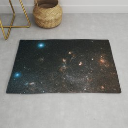 Hubble Space Telescope - Large and small stars in harmonious coexistence (2006) Rug