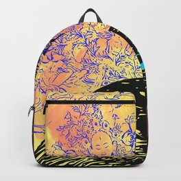 White Tara and Her Crows Backpack