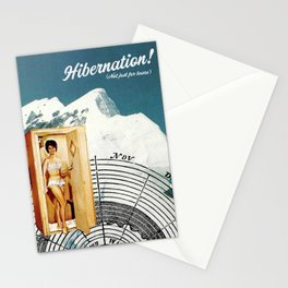 Hibernation! Not just for bears Stationery Cards