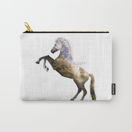 Horse view VI Carry-All Pouch