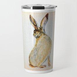 Snowshoe hare Travel Mug
