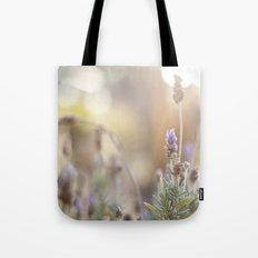 little lavender flower  Tote Bag
