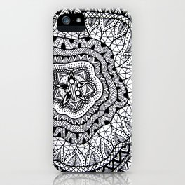 Doodle1 iPhone Case