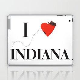I heart Indiana Laptop & iPad Skin