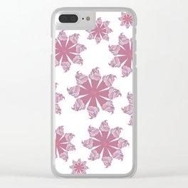 Ice Cream Cone Swirls Clear iPhone Case
