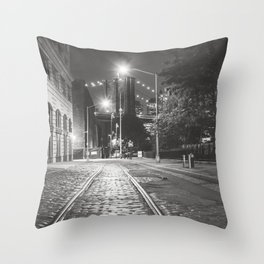 Dumbo Nights Throw Pillow