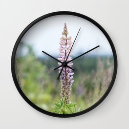 Almost alone Wall Clock