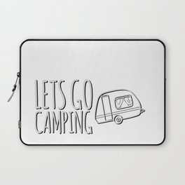 Lets go camping tshirt  Laptop Sleeve