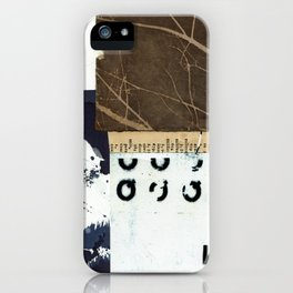 Divided Stories iPhone Case