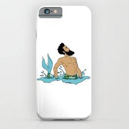 Majestic Mer Man 1 iPhone Case