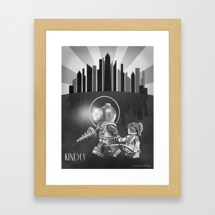 The Underwater Utopia Framed Art Print